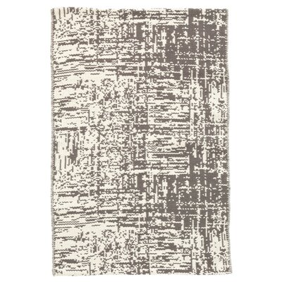 Drybrush Gray Area Rug