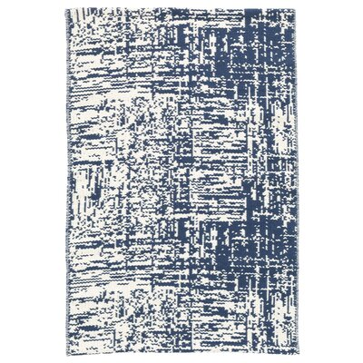 Drybrush Blue Area Rug