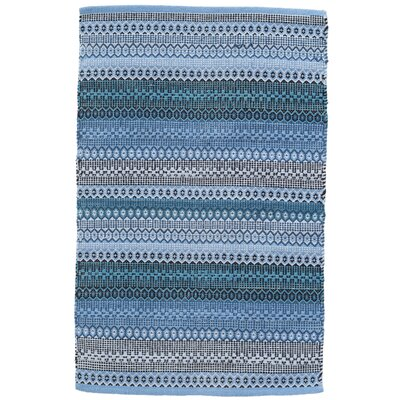 Gypsy Blue Indoor/Outdoor Area Rug Rug Size: Runner 26 x 12