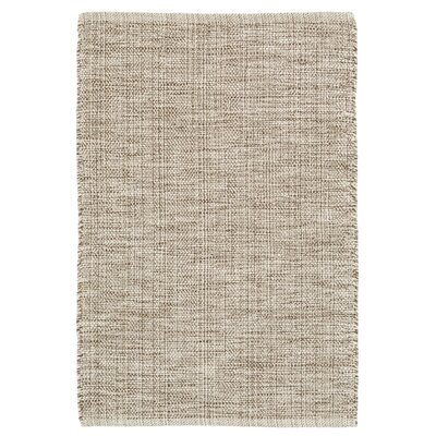 Marled Brown/Beige Area Rug Rug Size: Runner 26 x 12