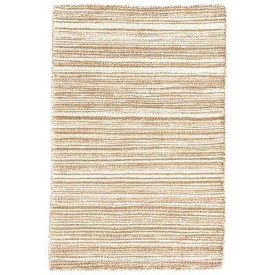Melange Beige/White Area Rug Rug Size: 2 x 3