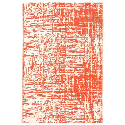 Drybrush Orange Area Rug Rug Size: 4 x 6