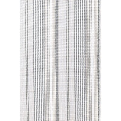 Gradation Gray/White Indoor/Outdoor Area Rug Rug Size: 5 x 8