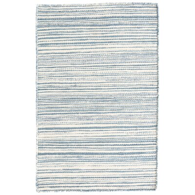 Melange Blue Area Rug