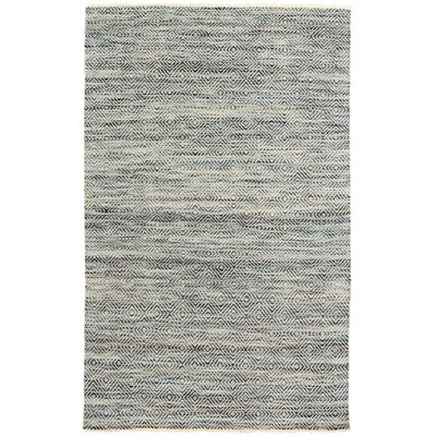 Jewel Gray Area Rug Rug Size: 2 x 3