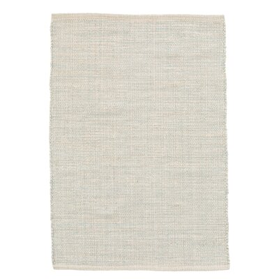 Marled Blue/White Area Rug Rug Size: Rectangle 2 x 3