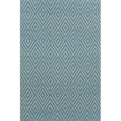 Diamond Hand Woven Gray Indoor/Outdoor Area Rug