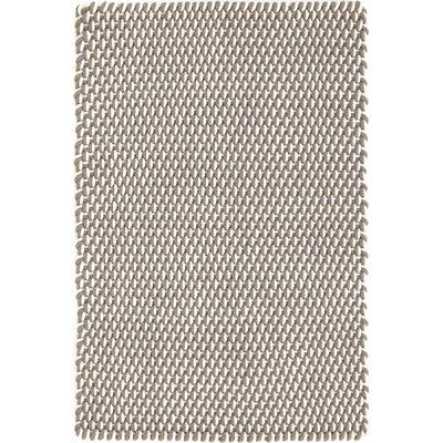 Two-Tone Rope Hand-Woven Gray/White Indoor/Outdoor Area Rug