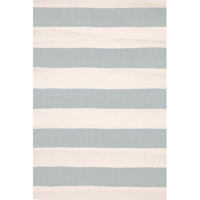Catamaran Hand-Woven Gray Indoor/Outdoor Area Rug