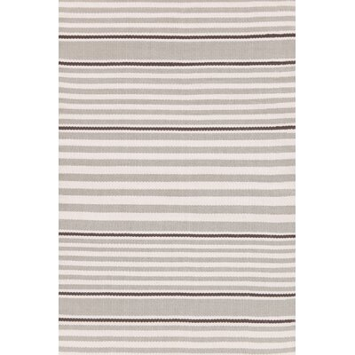 Rugby Stripe Hand Woven Indoor/Outdoor Area Rug