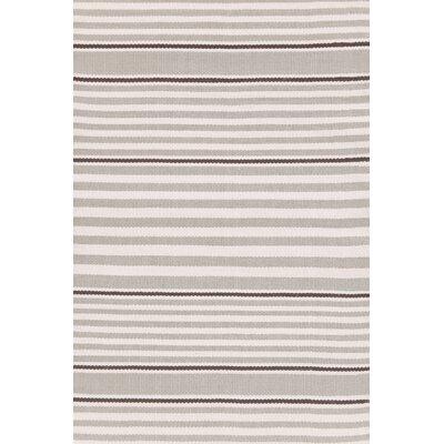 Rugby Stripe Hand Woven Indoor/Outdoor Area Rug