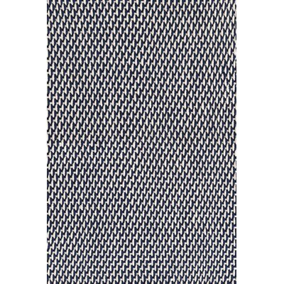 Two-Tone Rope Hand Woven Navy/Ivory Indoor/Outdoor Area Rug Rug Size: Rectangle 5 x 8