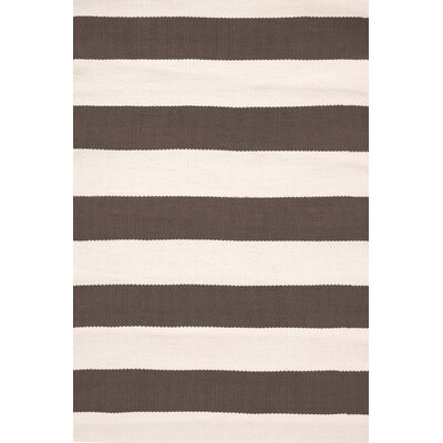 Catamaran Hand Woven Brown Indoor/Outdoor Area Rug