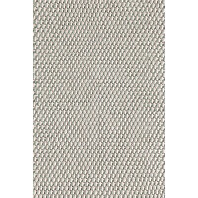 Two-Tone Rope Hand-Woven Light Blue Indoor/Outdoor Area Rug Rug Size: 5 x 8