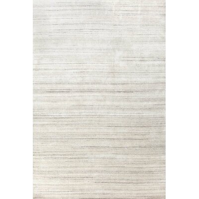Icelandia Knotted Gray Area Rug Rug Size: 8 x 10