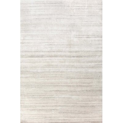 Icelandia Knotted Gray Area Rug Rug Size: 3 x 5