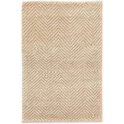 Nevis Hand Woven Beige Area Rug Rug Size: Rectangle 3 x 5