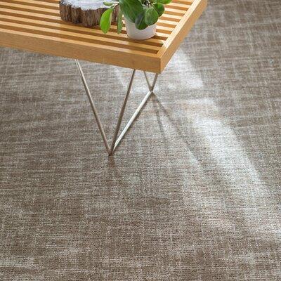 Crosshatch Mirco Hand Hooked Wool Gray Area Rug Rug Size: Runner 25 x 8