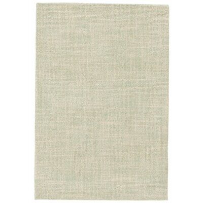 Crosshatch Celadon Area Rug Swatch