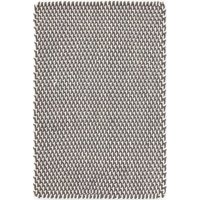 Hand Woven Graphite Indoor/Outdoor Area Rug Rug Size: 6 x 9