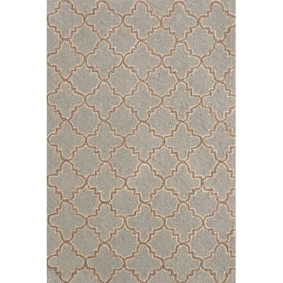 Hooked Blue Area Rug Rug Size: 2 x 3