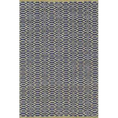 Fair Isle Hand Woven Blue Area Rug Rug Size: SAMPLE: 18 x 24