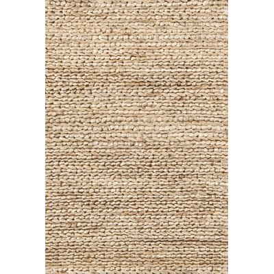 Hand Woven Beige Area Rug Rug Size: Rectangle 8 x 10