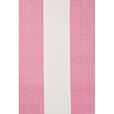 Hand Woven Pink Area Rug Rug Size: 8 x 10