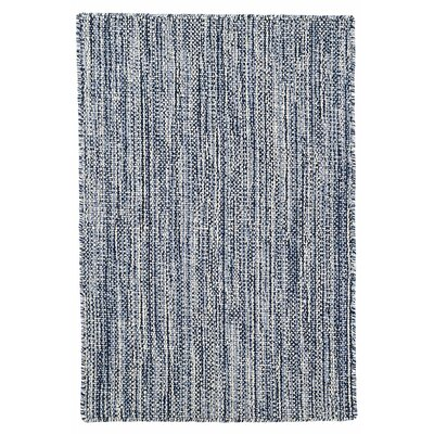 Bella Hand Woven Wool Navy Swatch