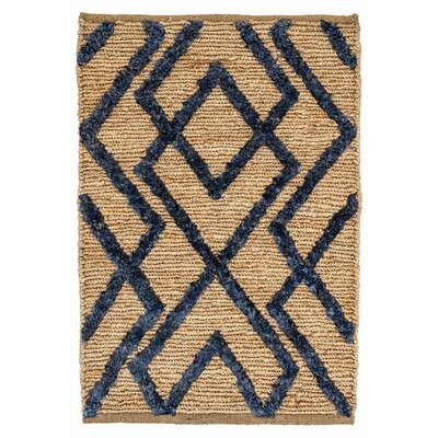 Marco Hand Woven Brown/Black Area Rug Rug Size: 2 x 3