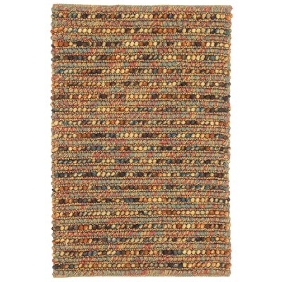 Jasper Orange/Blue/Yellow Area Rug Rug Size: 2 x 3