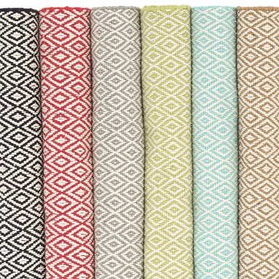 Lattice Cotton Stone Area Rug Rug Size: 2 x 3
