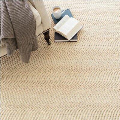 Sisal Wave Sand Area Rug Rug Size: 5 x 8