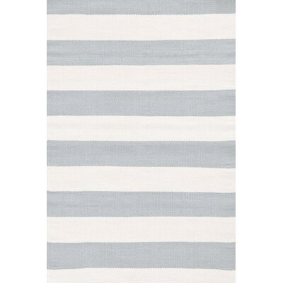 Indoor/Outdoor Blue/White Area Rug Rug Size: 2 x 3