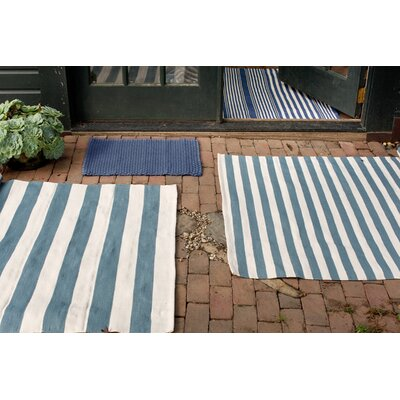 Indoor/Outdoor Blue Outdoor Area Rug