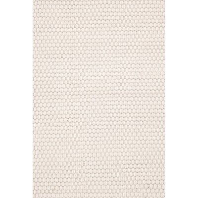Indoor/Outdoor White Area Rug Rug Size: Runner 26 x 8