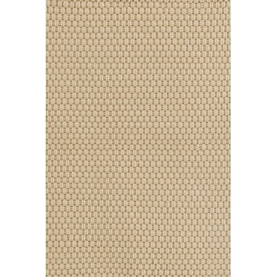 Indoor/Outdoor Beige Area Rug Rug Size: 6 x 9