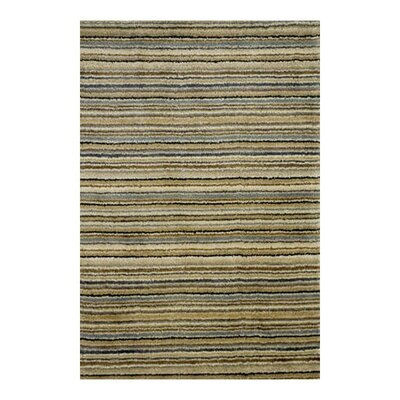 Tufted Hand-Woven Wool Beige Area Rug Rug Size: Runner 2'6