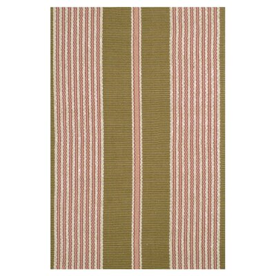 Woven Cotton Red indoor Rug Rug Size: 8 x 10