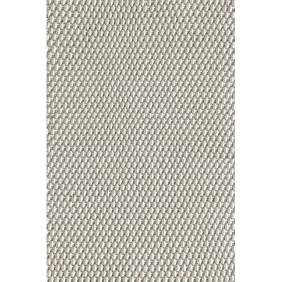 Two-Tone Rope Hand-Woven Light Blue Indoor/Outdoor Area Rug Rug Size: 4' x 6'