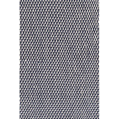 Two-Tone Rope Hand Woven Navy/Ivory Indoor/Outdoor Area Rug Rug Size: Runner 25 x 8