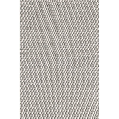 Two-Tone Rope Hand-Woven Platinum/Ivory Indoor/Outdoor Area Rug Rug Size: 6 x 9