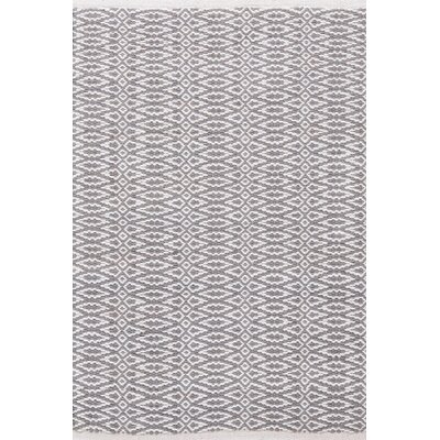 Fair Isle Hand Woven Grey Area Rug Rug Size: Rectangle 4 x 6