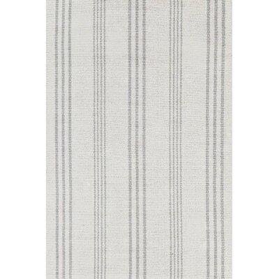 Hand Woven Grey Area Rug Rug Size: Rectangle 6 x 9