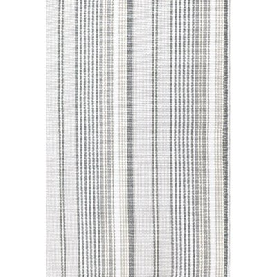 Hand Woven Grey Area Rug Rug Size: Runner 25 x 8
