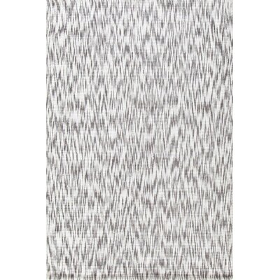 Ikat Grey/White Area Rug Rug Size: Rectangle 4 x 6