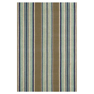 Flat Woven Blue Area Rug Rug Size: 9 x 12