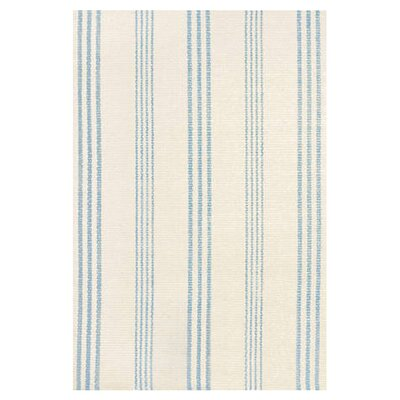 Hand Woven Blue/Ivory Area Rug