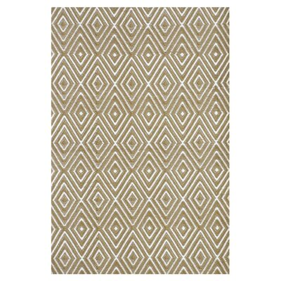 Hand Woven Beige Indoor/Outdoor Area Rug Rug Size: 86 x 11