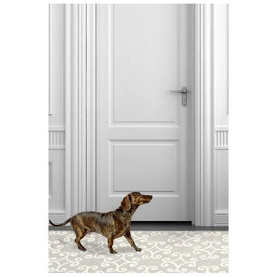 Hooked Grey Area Rug Rug Size: Runner 26 x 8